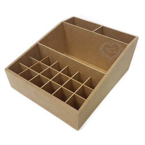 Caixa de Baralho com pitão 12x17x5,3