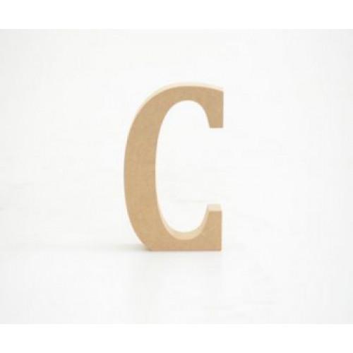 Letra C 12cm alt. 18mm