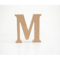 Letra M 12cm alt. 18mm..