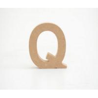 Letra Q 12cm alt. 18mm