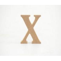 Letra X 12cm alt. 18mm..