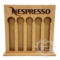 Porta Capsula em Pé Nespresso 26x26x2 cm..