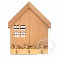 Casa porta chave com ganchos Home Swet H..