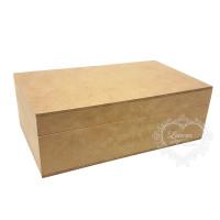 Caixa com dobradiça P 20x12x7 cm..