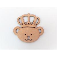 Urso coroa P ou M - 2 unid