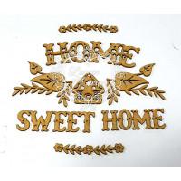 Home sweet home - kit com arabescos e te..