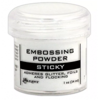 Pó para embossing Sticky