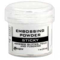 Pó para embossing Sticky..