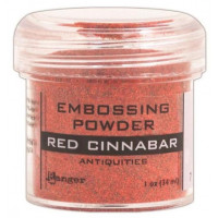 Pó para emboss Antiquities - Red Cinnabar