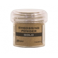 Pó para embossing Gold