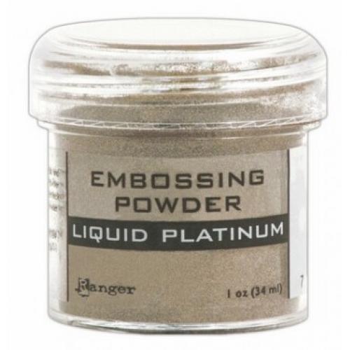 Pó para embossing Liquid Platinum