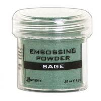 Pó para embossing Sage