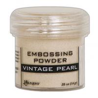 Pó para embossing Vintage Pearl