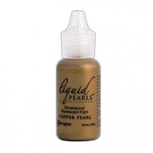 Tinta Perolada Dimensional Liquid Pearls - Copper Pearl