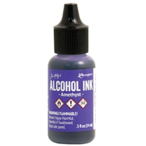 Tinta alcool - Amethyst