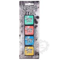 Carimbeira Distress - 4 Mini Pad #13 - 2..