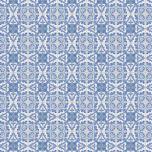 papel azulejo português 4 - 180g dupla face 30.5x30.5