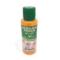 Tinta acrílica fosca 60ml Nature Colors - Amêndoa