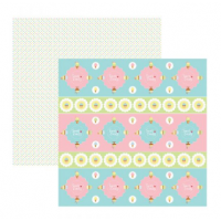 Papel Scrap Candy forminhas e toppers - Dupla Face 180g