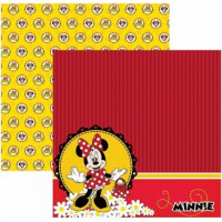 Papel para scrap df minnie mouse 2 paisa..