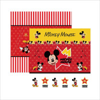 papel 180g dupla face mickey - 30.5 x 30.5
