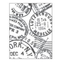Placa para Relevo 2D - Selos