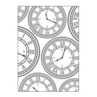 Placa para Relevo 2D - Relógio Vintage I