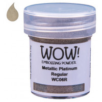 Pó Emboss - WOW! - Metallic Platinum Regular