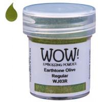 Pó Emboss - WOW! - Earthtone Olive..