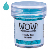 Pó Emboss Glitter - WOW! - Totally Teal